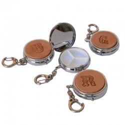 Portapillole Personalizzato Tre Scomparti con Catenella