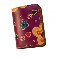 Portafoglio Mini disegno Fiore